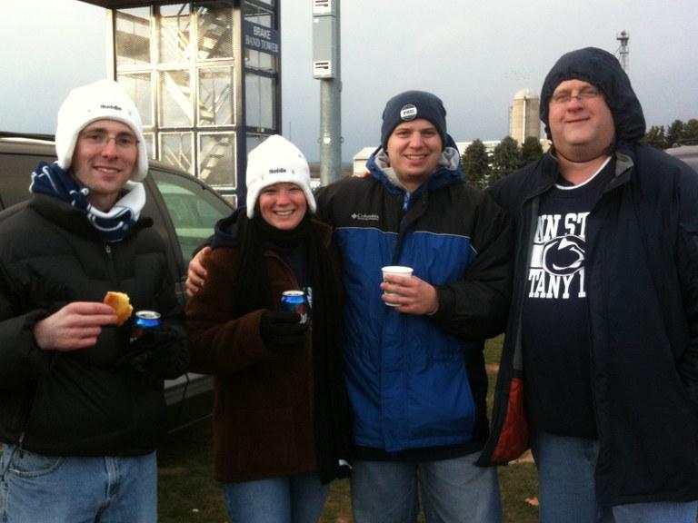 Scott, Rachael, Todd, and Rob