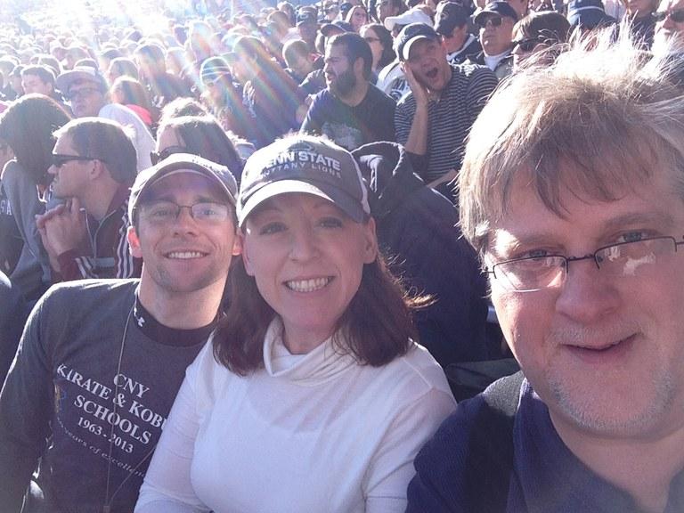 Scott, Julia, and Rob