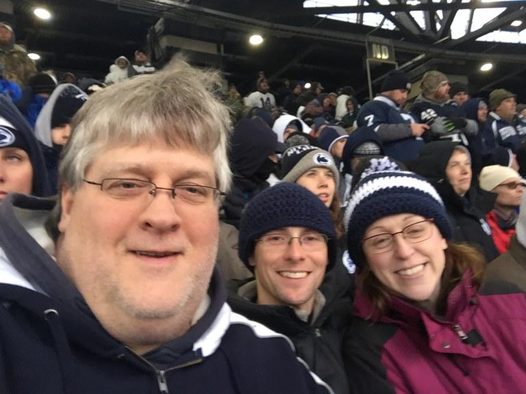 Rob, Scott, and Julia